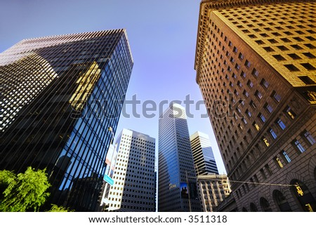 San Francisco City center - stock photo