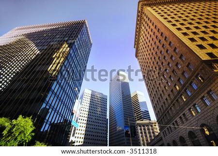 San Francisco City center - stock photo