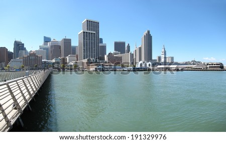 San Francisco downtown cityscape  - stock photo