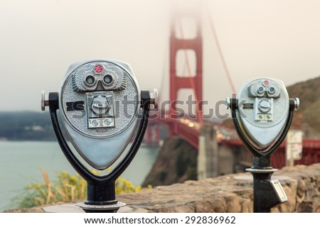 San Francisco, Golden Gate - stock photo