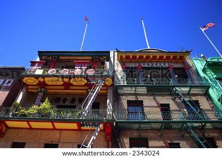 San Francisco's Chinatown - stock photo
