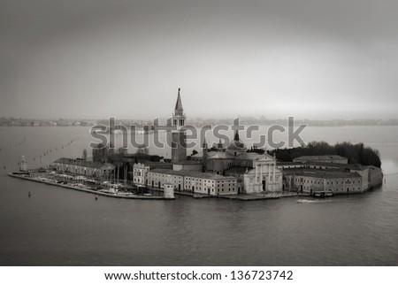 San Giorgio Island, Venice - stock photo
