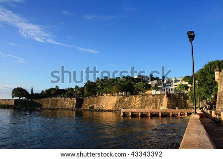 San Juan port - stock photo