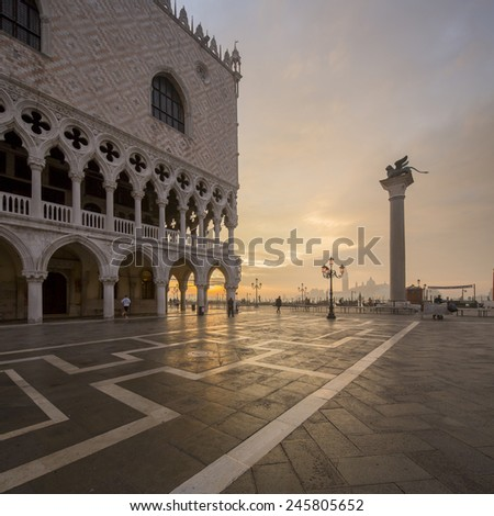 San Marco in Venice Italy - stock photo