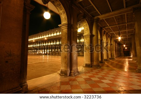 san marco place - stock photo