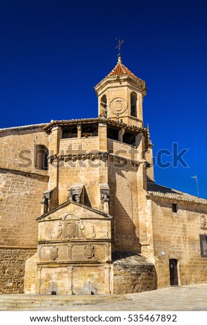 San Pablo Church in Ubeda - Spain, Andalusia