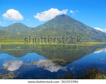 San Pedro Volcano - stock photo