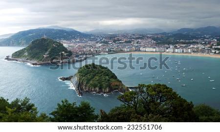San Sebastian. - stock photo