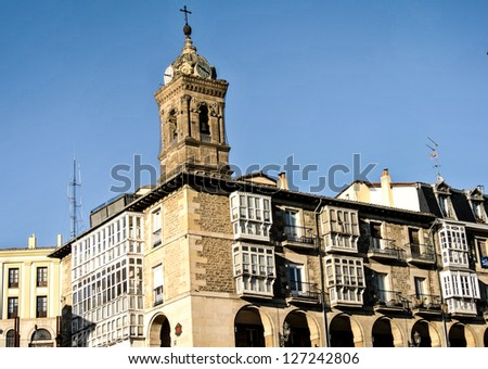 San Vicente church in Vitoria (Basque Country, Spain)