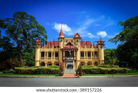 Sanamchandra palace - stock photo