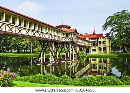 Sanamjan Palace - stock photo