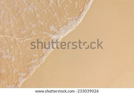 sand and sea - stock photo