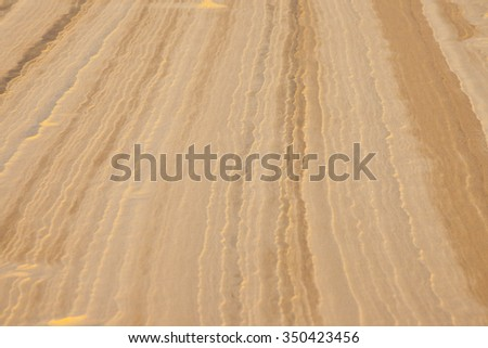 Sand background texture from sand dune in Vietnam - stock photo