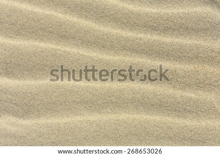 Sand Background With Dunes Texture/ Sand Background - stock photo