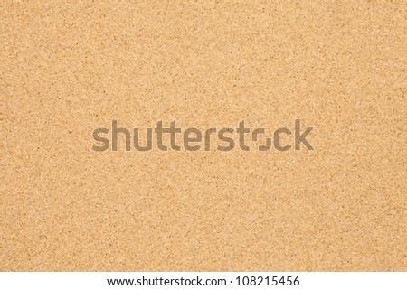 Sand beach background - stock photo
