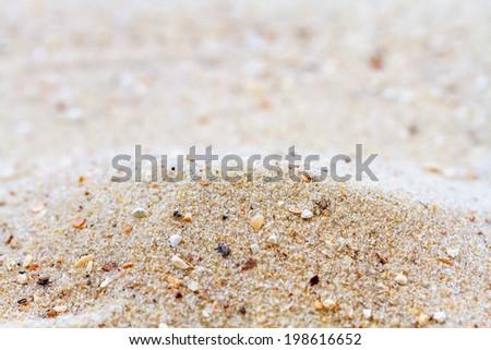 sand dunes background  - stock photo