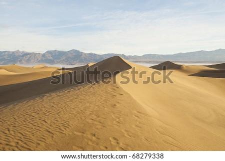 Sand Dunes, Death Valley - stock photo