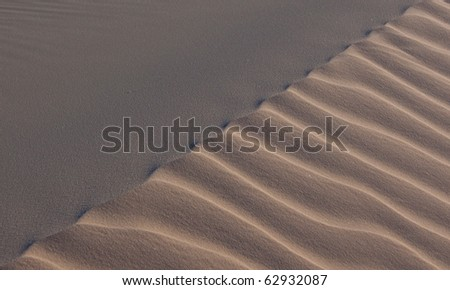 Sand dunes in Brazil - stock photo
