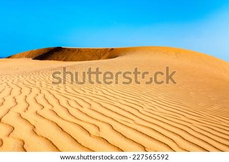 sand dunes in mui ne - phan thiet province - Vietnam
