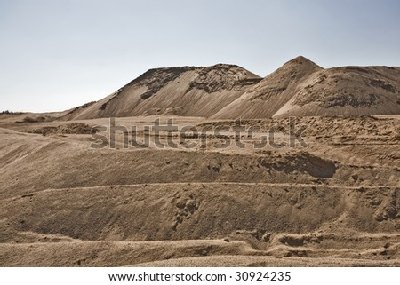 SAND EXTRACTION SITE