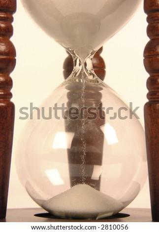 sand-glasses - stock photo
