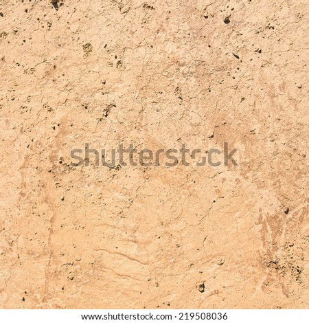 Sand ground textured - stock photo