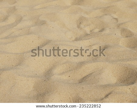 sand on the beach as background - stock photo