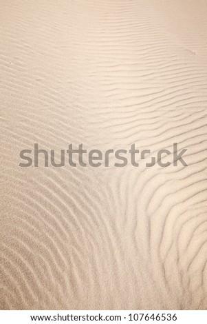 sand pattern - stock photo