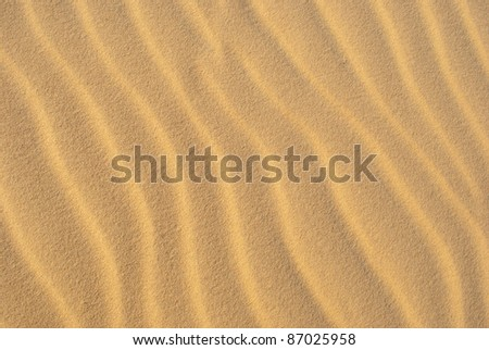 Sand Pattern - stock photo