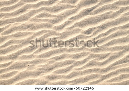 Sand pattern, interesting abstract texture - stock photo