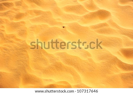 Sand Pattern Textured Backgrounds - stock photo