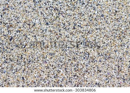 Sand sea background - stock photo