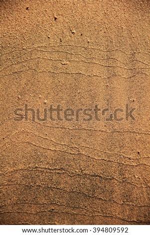 Sand texture close up macro photo on the beach - stock photo