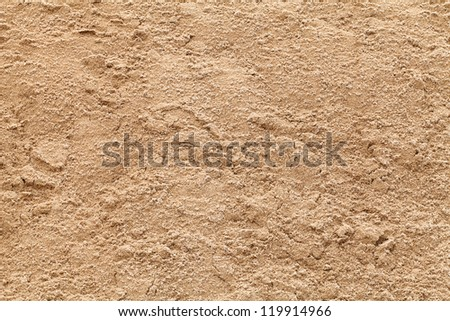 sand texture from sand pile - stock photo