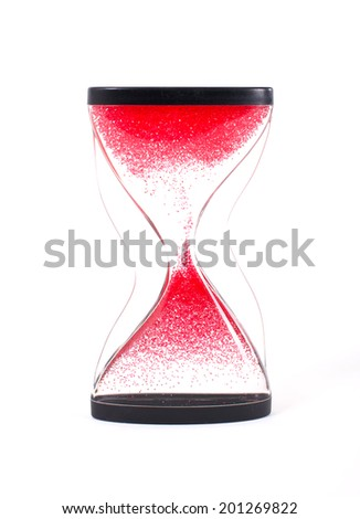 Sand Timer - stock photo