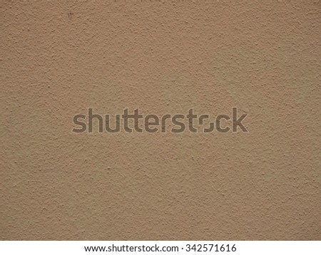 sand toned painted wall