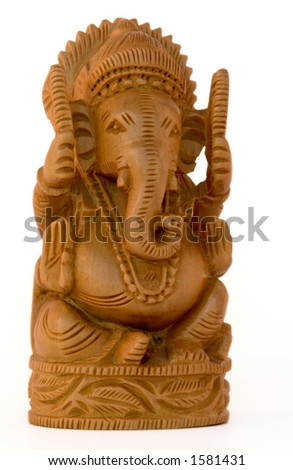 Sandalwood Ganesh from Nepal