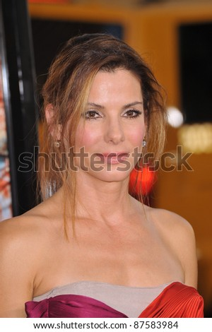 "Sandra Bullock at the world premiere of her new movie ""All About Steve"" at Grauman's Chinese Theatre, Hollywood. August 26, 2009  Los Angeles, CA Picture: Paul Smith / Featureflash"