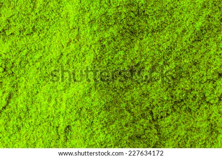 Sandstone green background