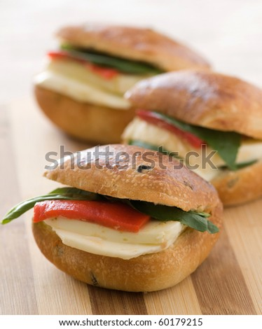 sandwichs - stock photo