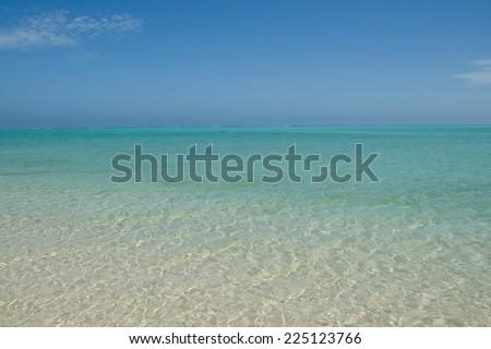 Sandy Bay Beach Ningaloo Reef Western Australia - stock photo