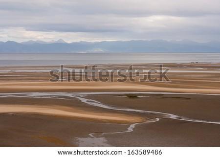 Sandy Bay in Abel Tasman National Park, New Zealand - stock photo
