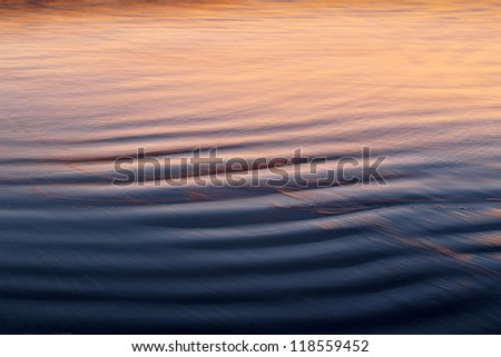 Sandy Beach and Waves - stock photo