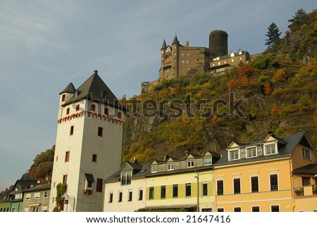 Sankt Goarshausen - stock photo