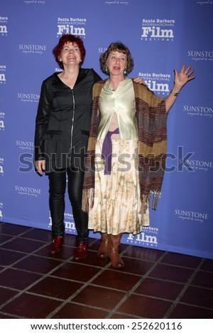 SANTA BARBARA - FEB 5:  Jane Rosemont, Kathy Knapp at the Santa Barbara International Film Festival - American Riviera Award at a Arlington Theater on February 5, 2015 in Santa Barbara, CA - stock photo