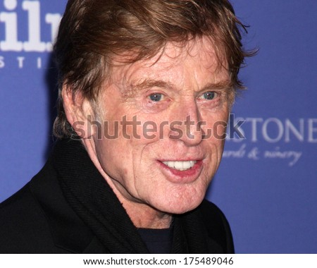 SANTA BARBARA - FEB 7:  Robert Redford at the Santa Barbara International Film Festival Honors Robert Redford at Arlington Theater on February 7, 2014 in Santa Barbara, CA