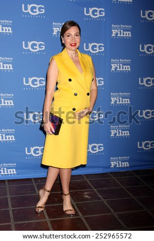 "SANTA BARBARA - JAN 27:  Fabiola Beracasa at the Santa Barbara International Film Festival - US Premiere of ""Desert Dancer"" at a Arlington Theater on January 27, 2015 in Santa Barbara, CA - stock photo"