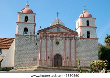 Santa Barbara Mission, California