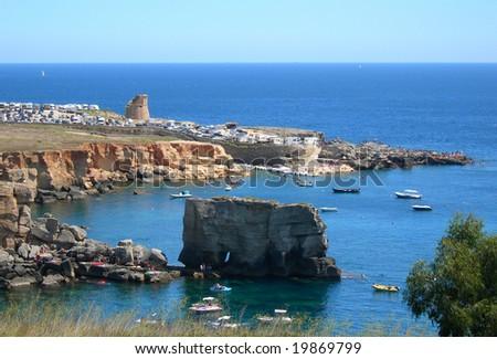 Santa Cesarea 01 - stock photo