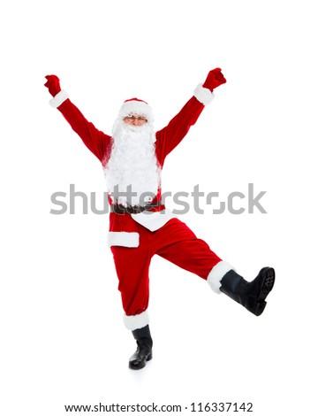 how to set up folding santa claus